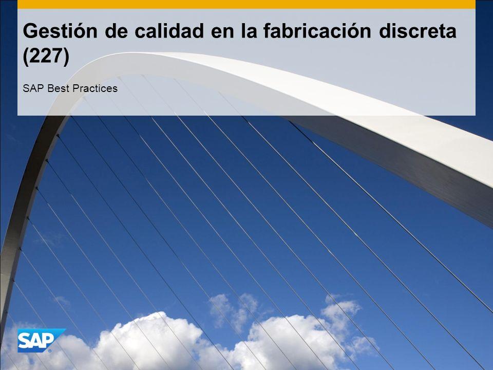 Gestión de calidad en la fabricación discreta (227)