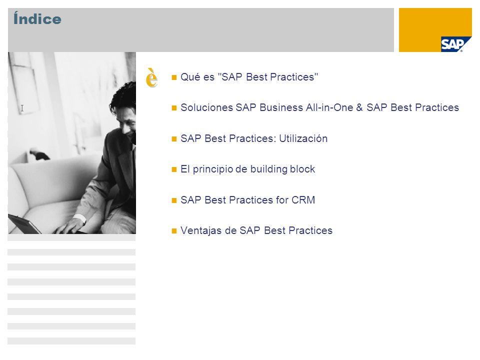 è Índice Qué es SAP Best Practices