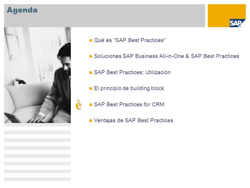 è Agenda Qué es SAP Best Practices