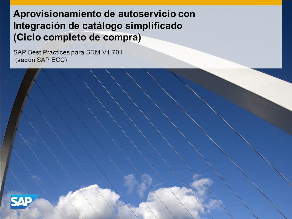 SAP Best Practices para SRM V1.701 (según SAP ECC)