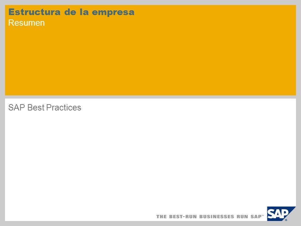 Estructura de la empresa Resumen