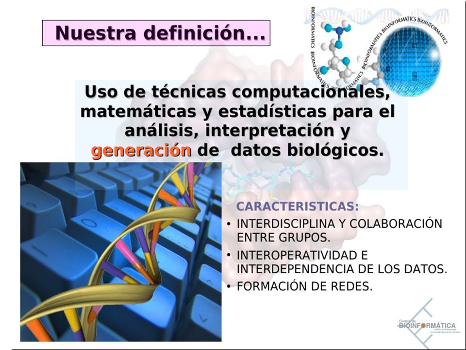 Introducción a la Bioinformática