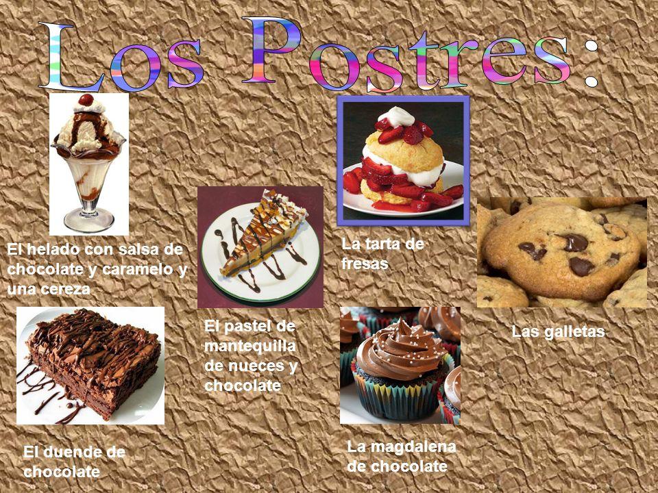 Los Postres: La tarta de fresas