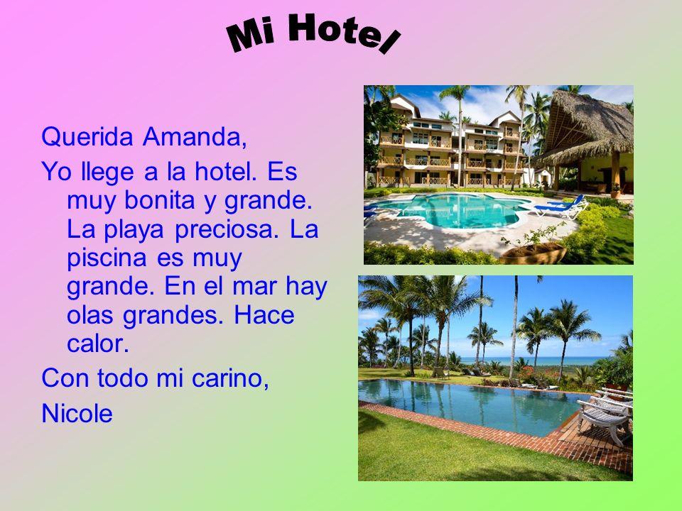 Mi Hotel Querida Amanda,