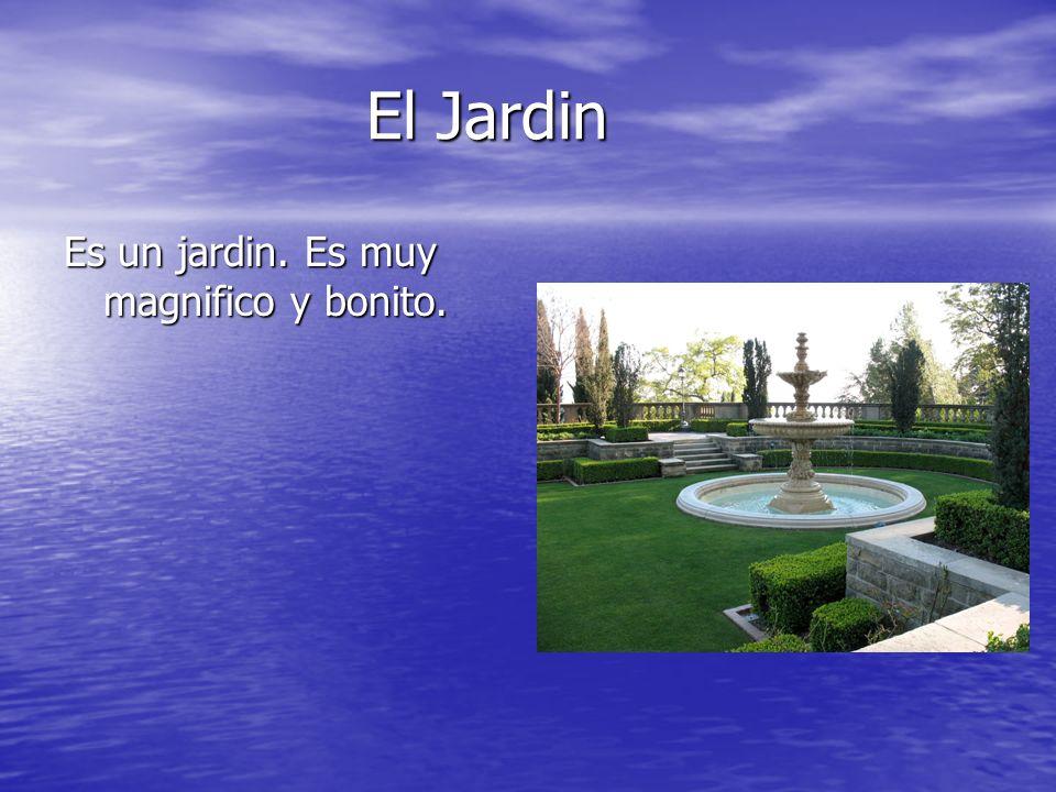 El Jardin Es un jardin. Es muy magnifico y bonito.