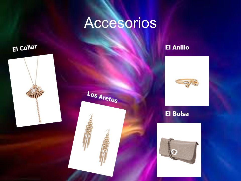 Accesorios El Collar El Anillo Los Aretes El Bolsa