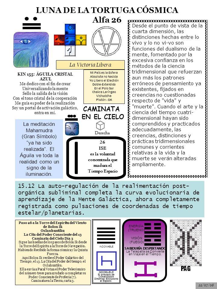 LUNA DE LA TORTUGA CÓSMICA Alfa 26