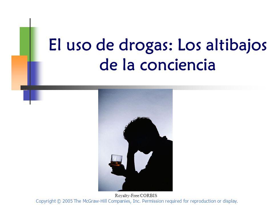 El uso de drogas: Los altibajos de la conciencia