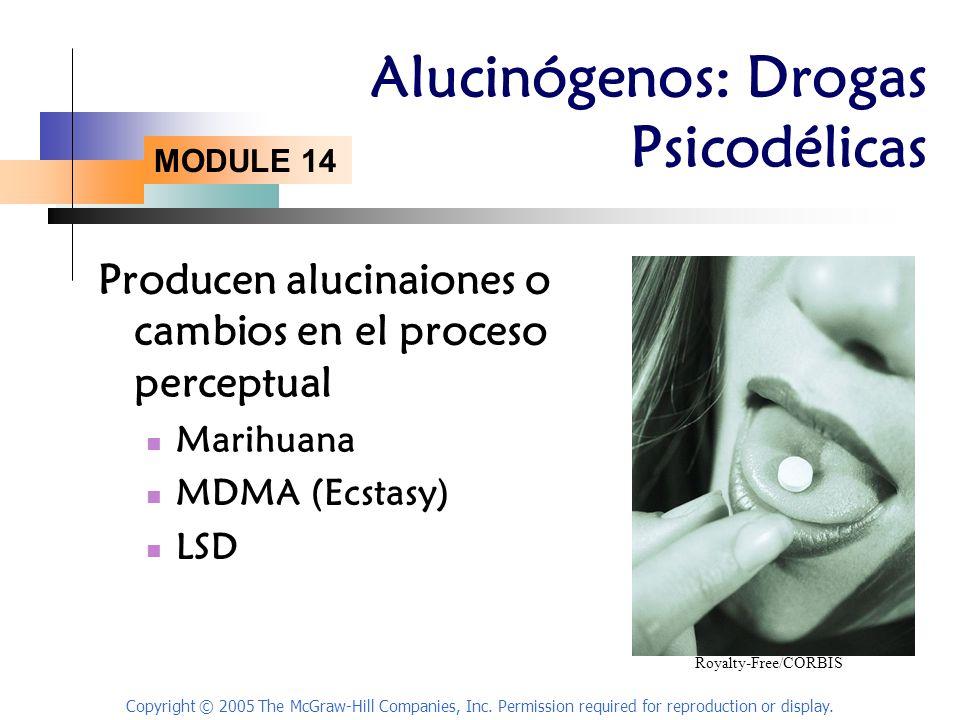 Alucinógenos: Drogas Psicodélicas