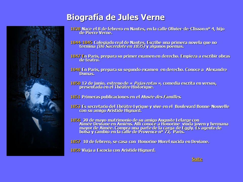 Biografía de Jules Verne