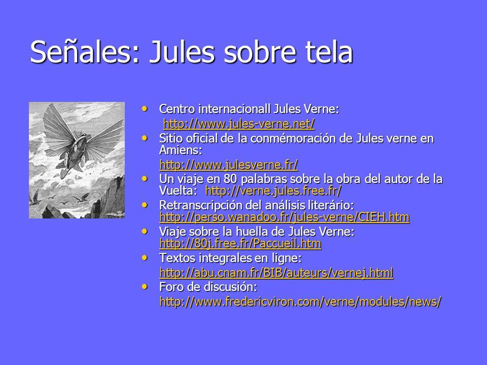 Señales: Jules sobre tela