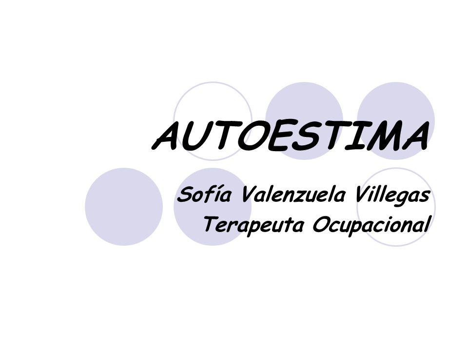 Sofía Valenzuela Villegas Terapeuta Ocupacional