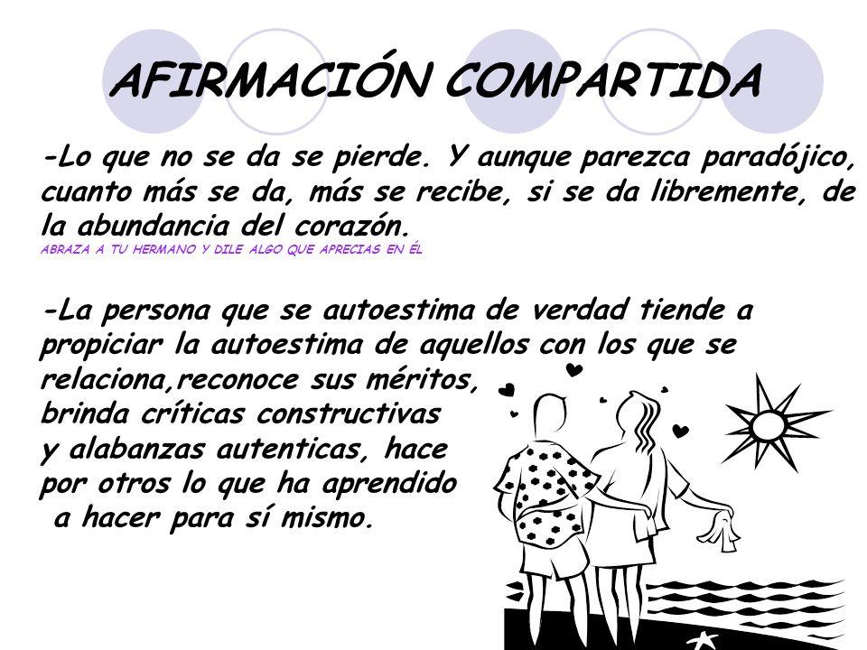 AFIRMACIÓN COMPARTIDA