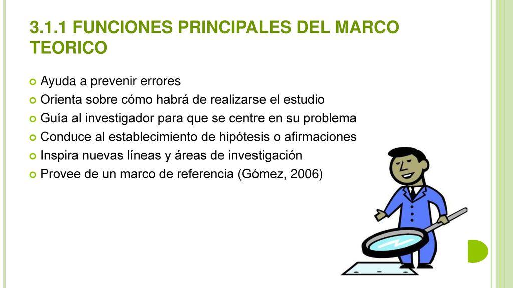 PROYECTO DE INVESTIGACION I UNIDAD III . MARCO TEORICO - ppt descargar
