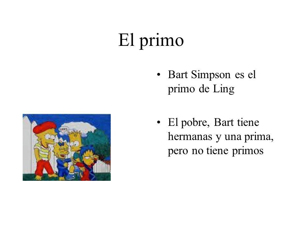 El primo Bart Simpson es el primo de Ling