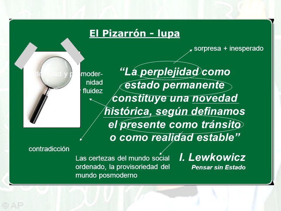 I. Lewkowicz Pensar sin Estado