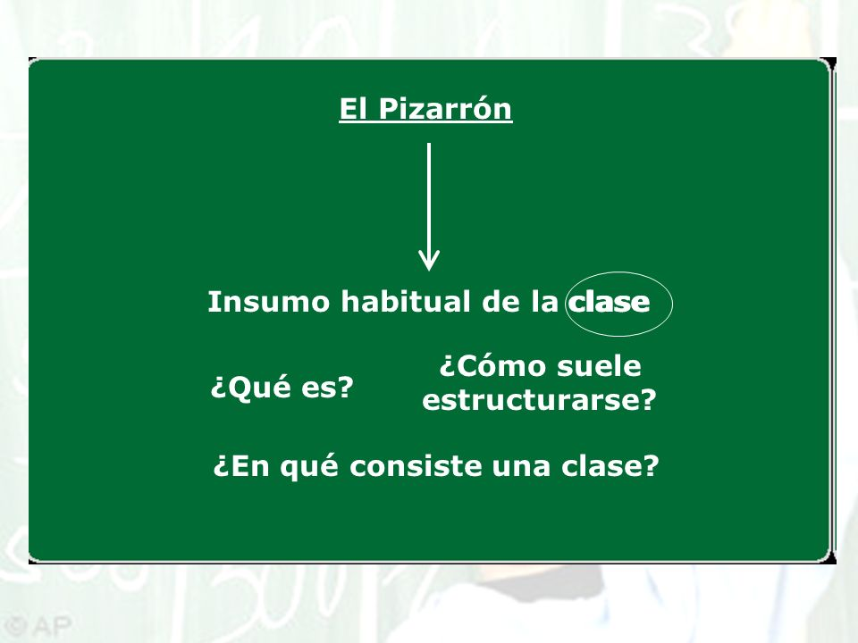 Insumo habitual de la clase clase
