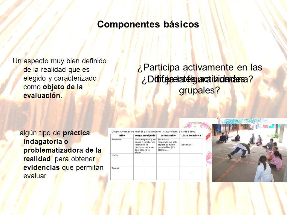 ¿Participa activamente en las diferentes actividades grupales