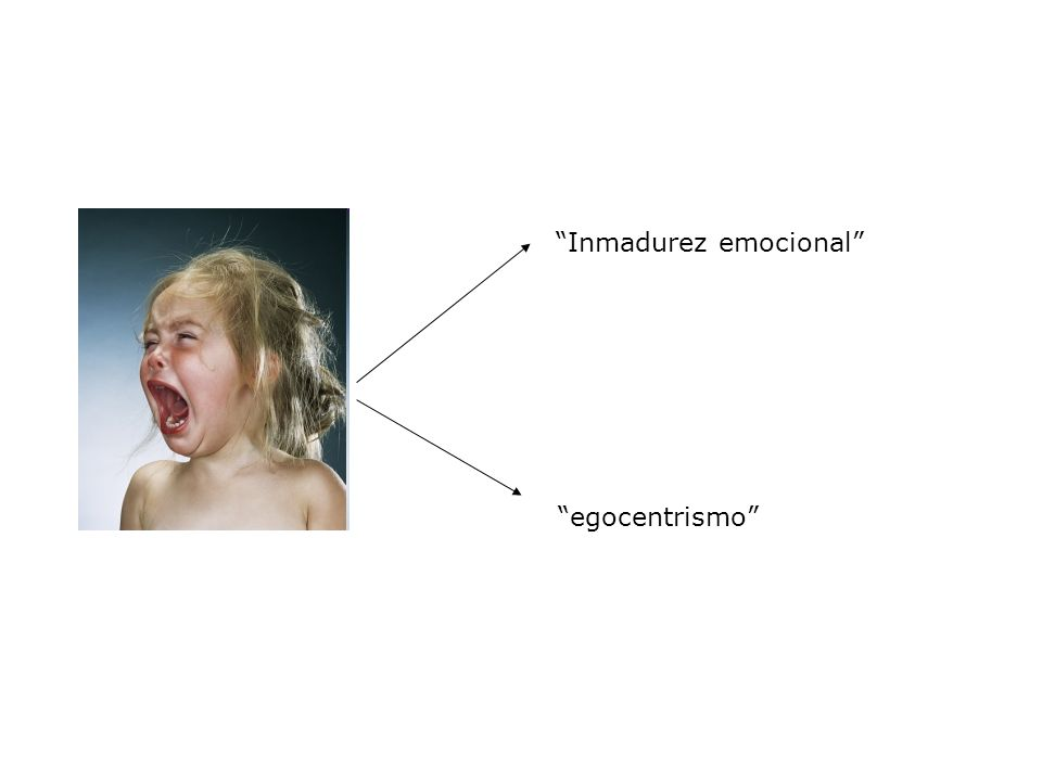 Inmadurez emocional