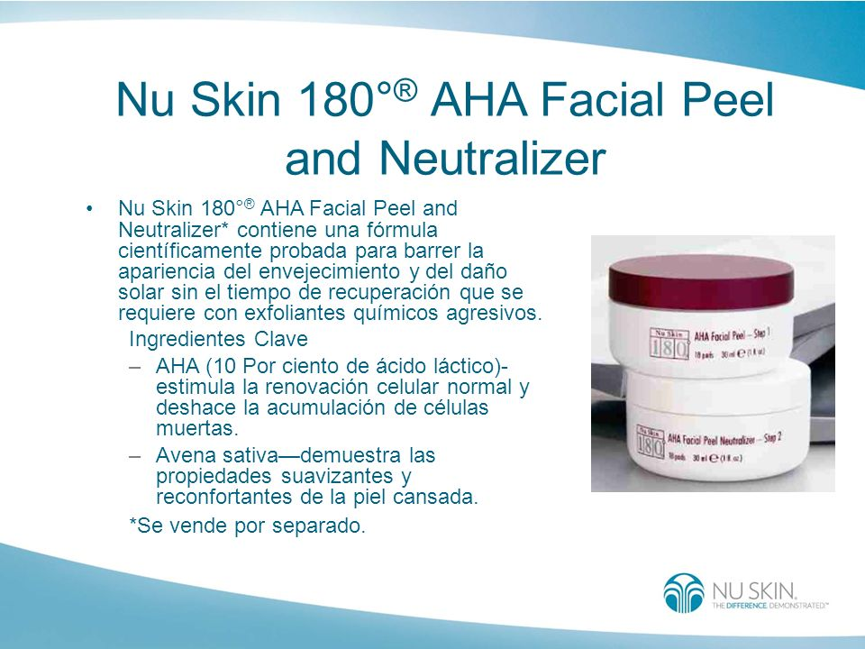 Nu Skin 180°® AHA Facial Peel and Neutralizer