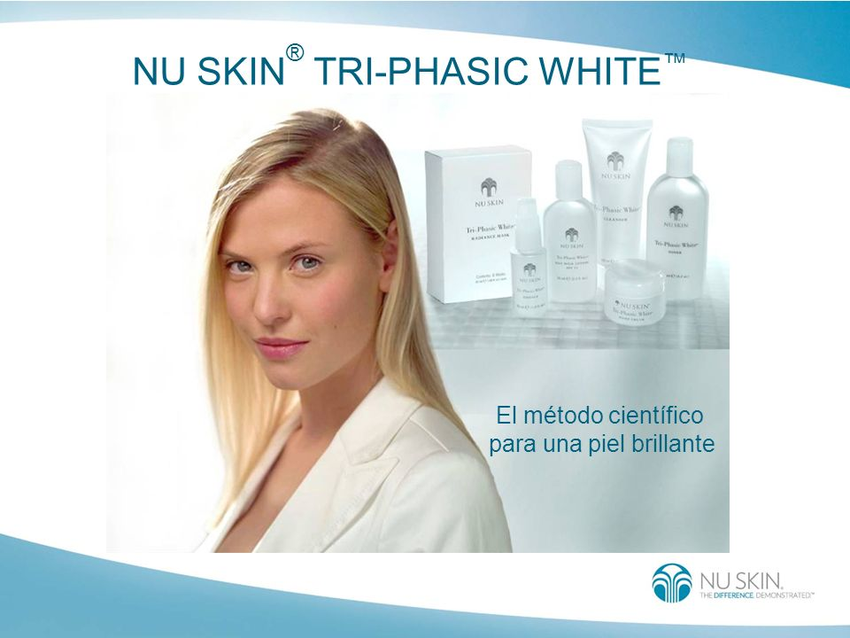 NU SKIN® TRI-PHASIC WHITE™