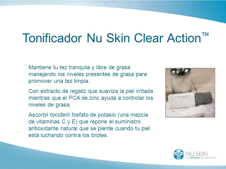 Tonificador Nu Skin Clear Action™