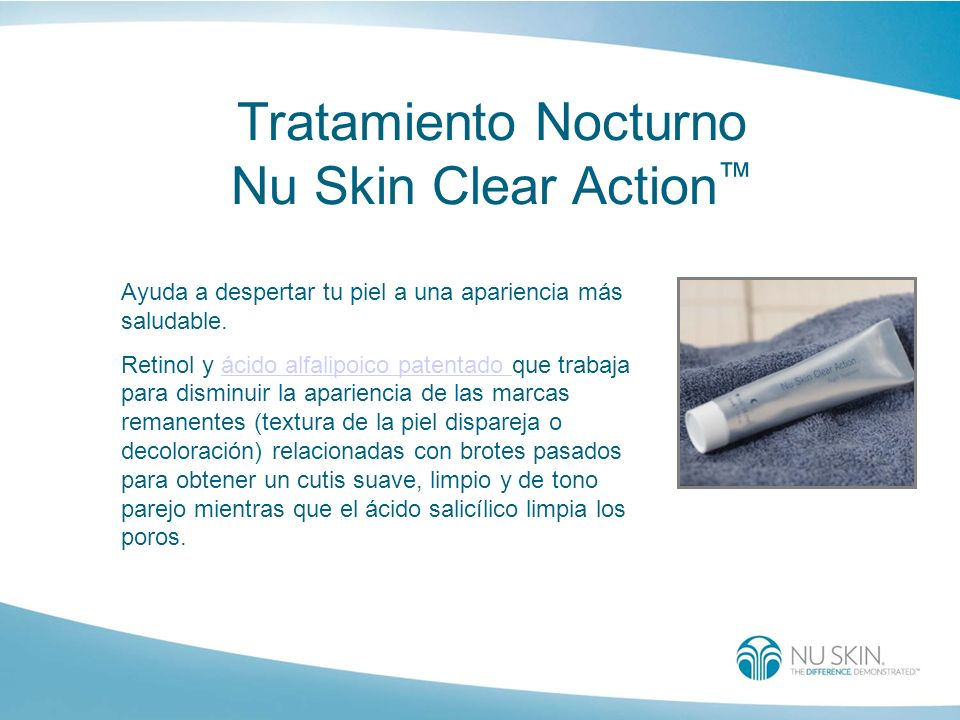 Tratamiento Nocturno Nu Skin Clear Action™