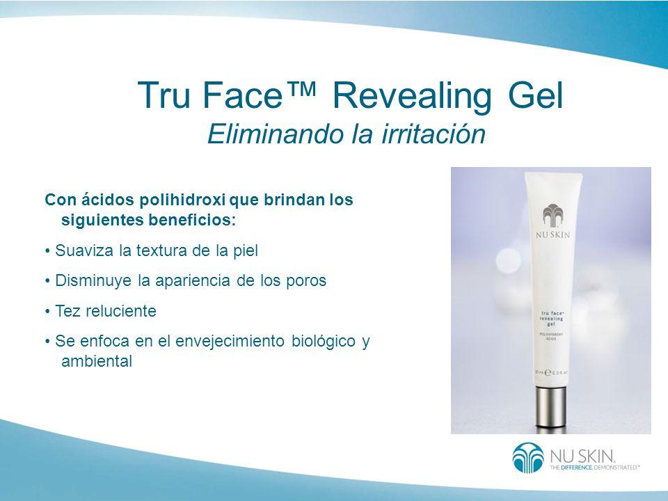 Tru Face™ Revealing Gel Eliminando la irritación