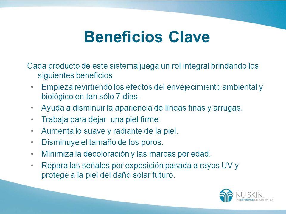 Beneficios ClaveCada producto de este sistema juega un rol integral brindando los siguientes beneficios:
