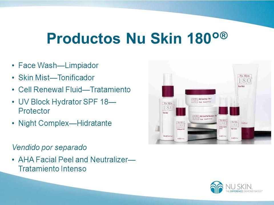Productos Nu Skin 180°® Face Wash—Limpiador Skin Mist—Tonificador