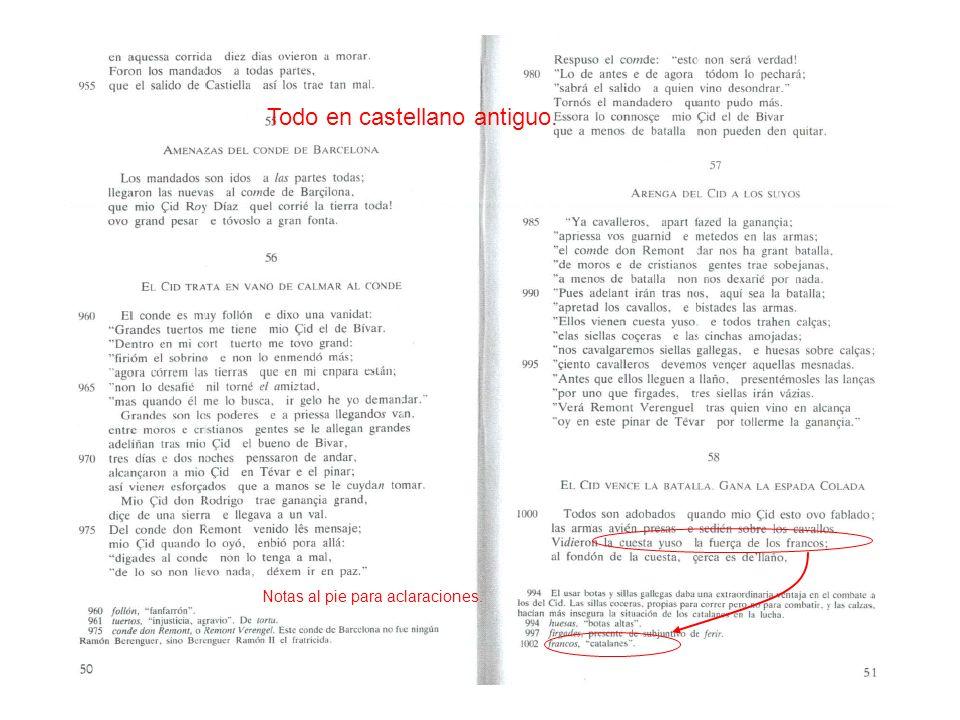 Todo en castellano antiguo.