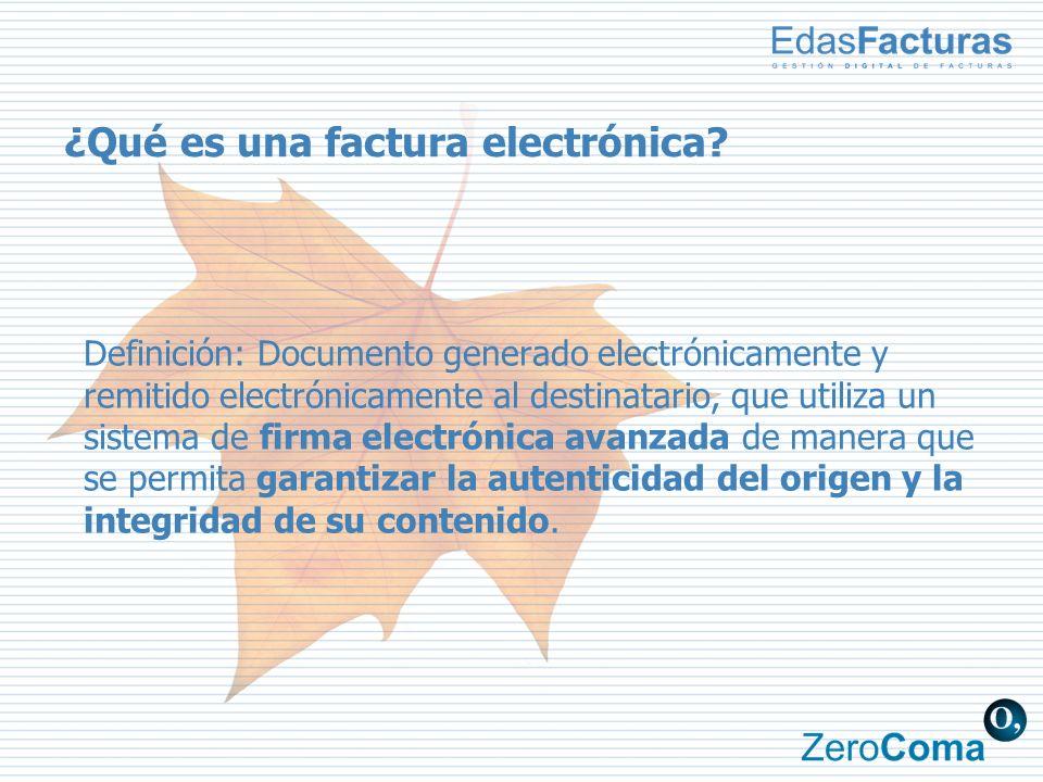¿Qué es una factura electrónica