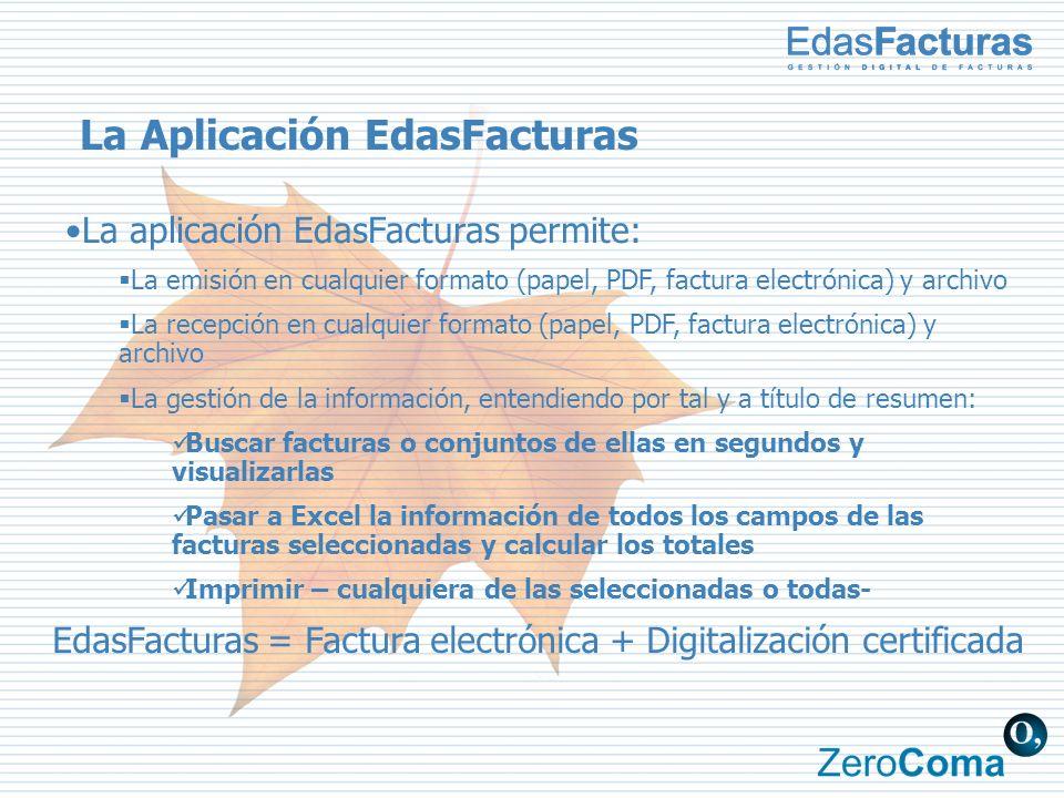 La Aplicación EdasFacturas