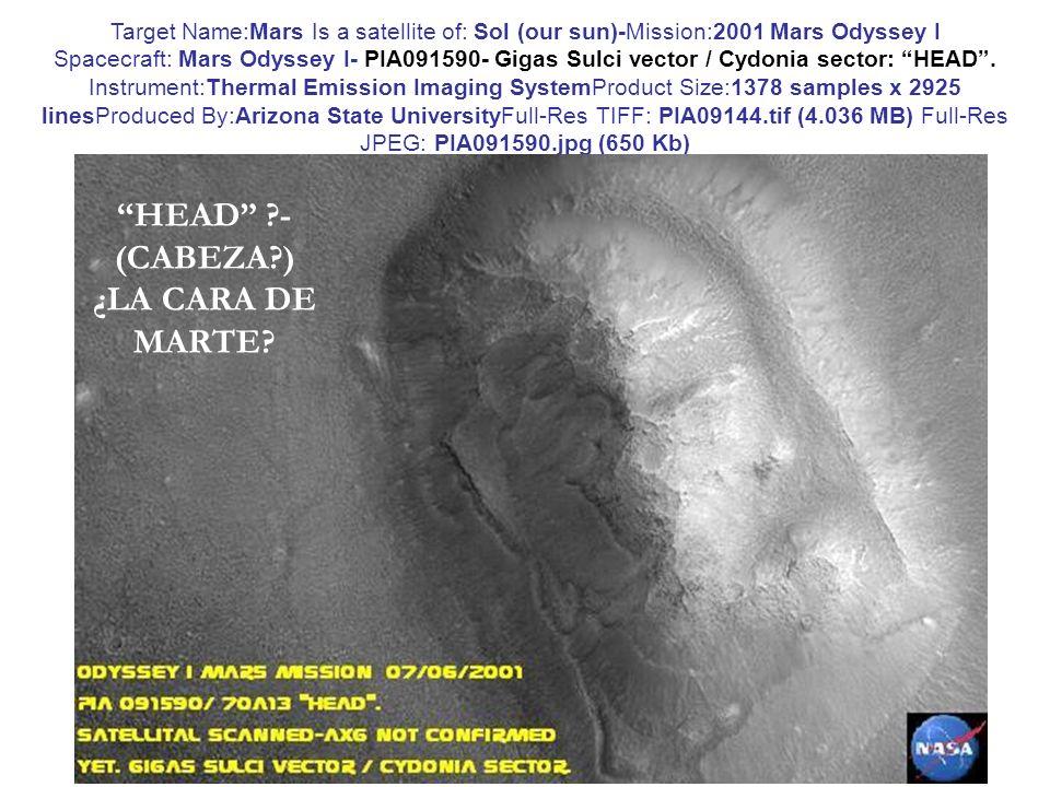 HEAD - (CABEZA ) ¿LA CARA DE MARTE