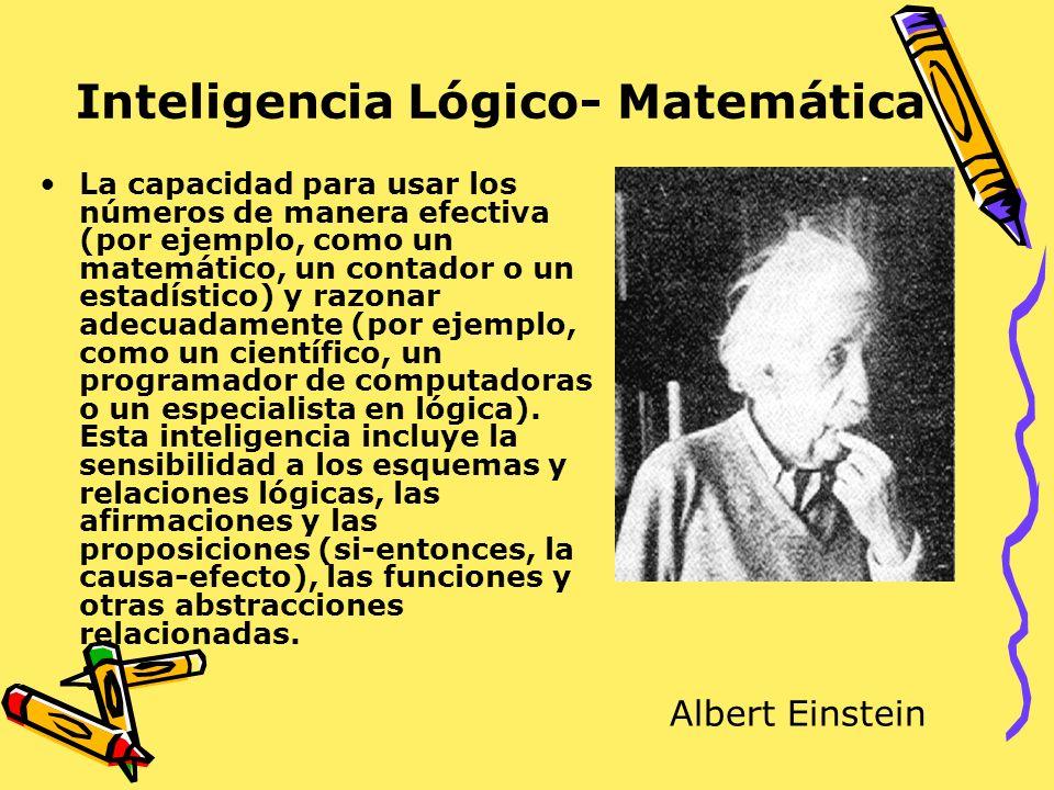 Inteligencia Lógico- Matemática
