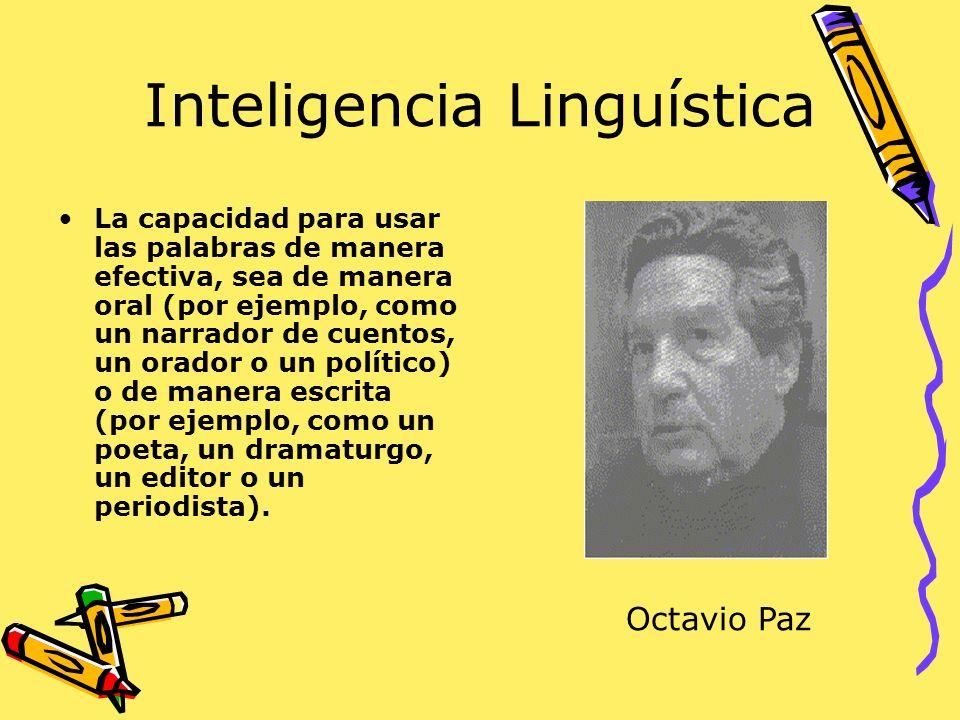 Inteligencia Linguística