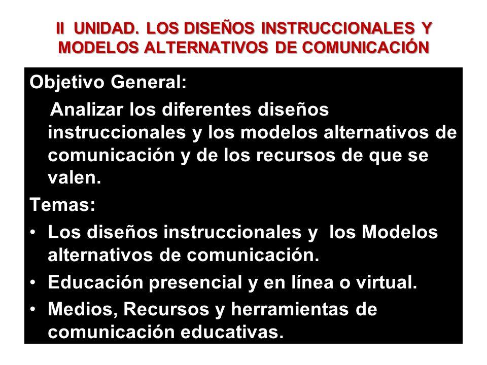 Educación presencial y en línea o virtual.