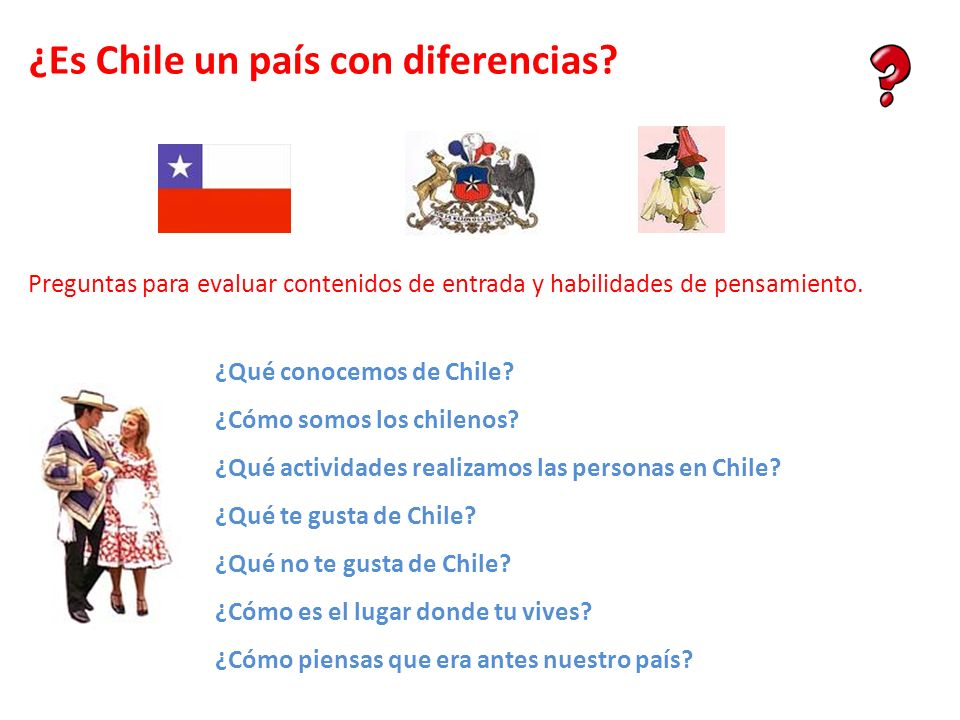 ¿Es Chile un país con diferencias