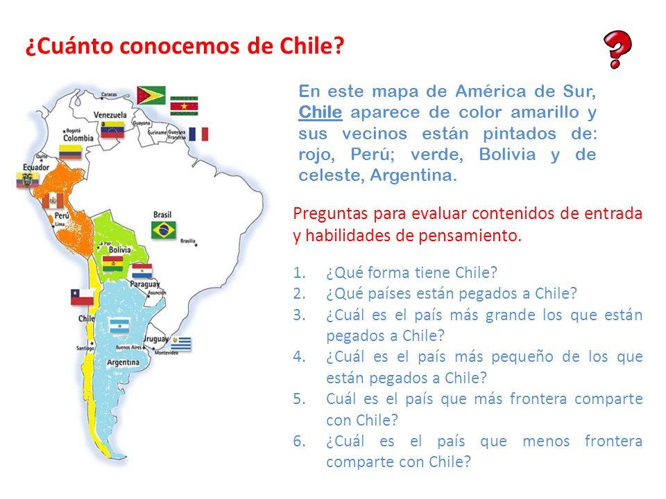¿Cuánto conocemos de Chile