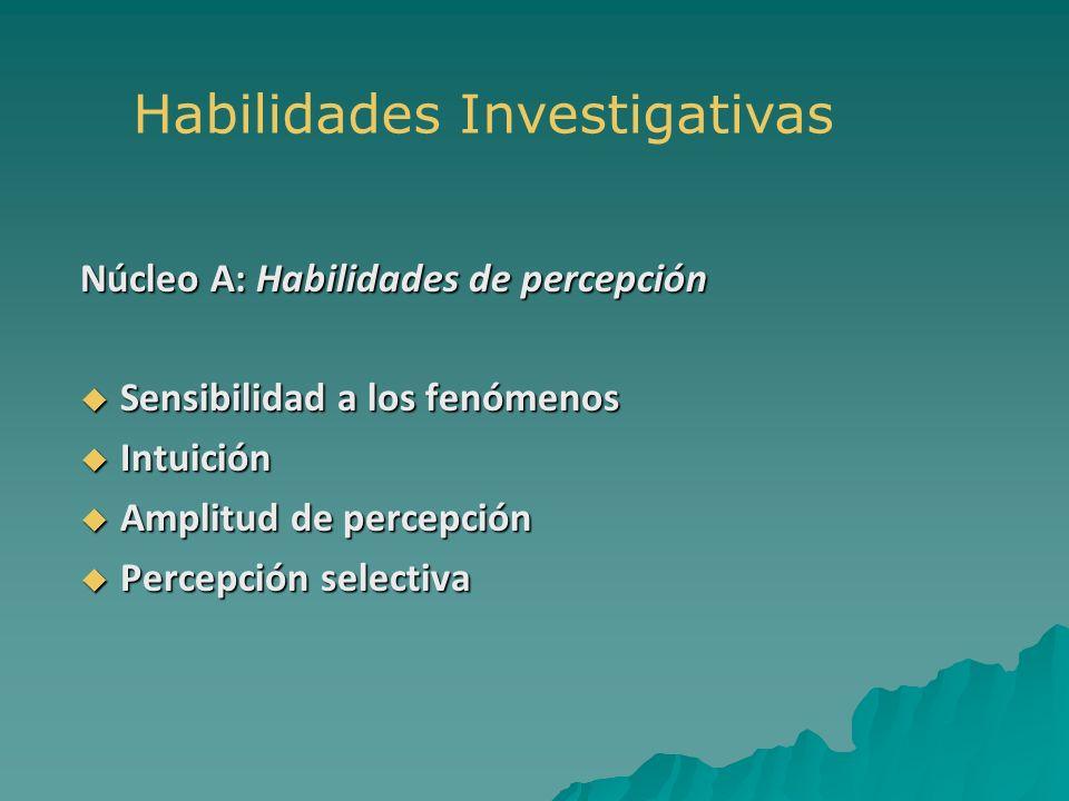 Habilidades Investigativas