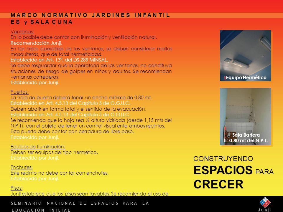 Sala Bañera h: 0.80 mt del N.P.T.