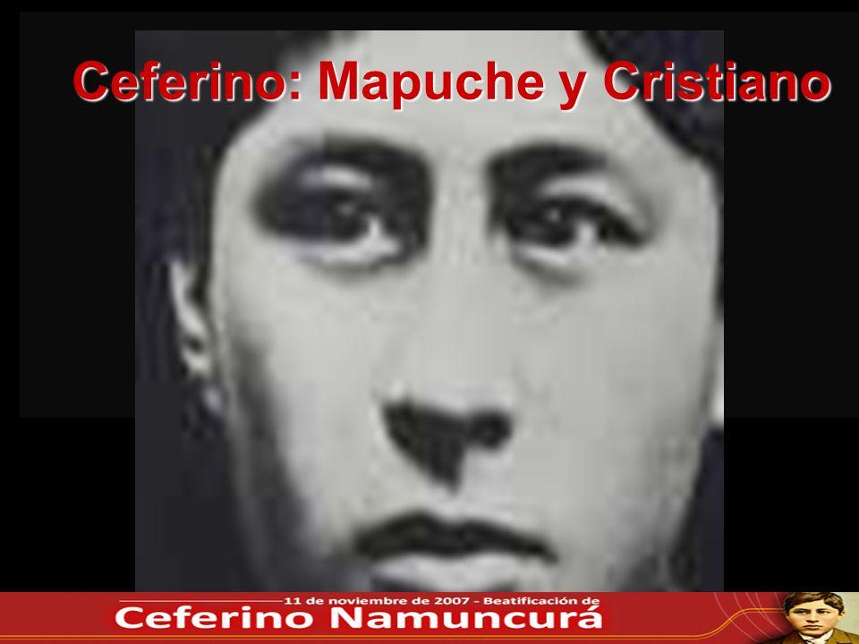 Ceferino: Mapuche y Cristiano