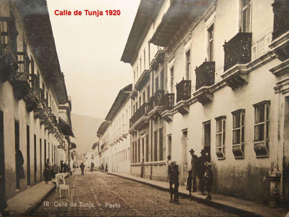 Calle de Tunja 1920