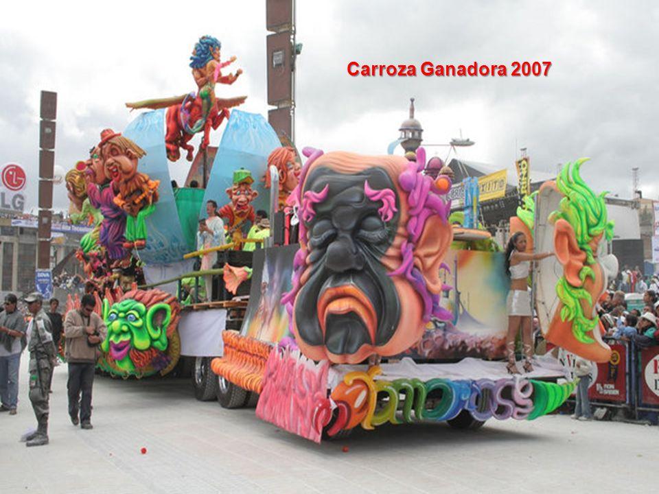 Carroza Ganadora 2007