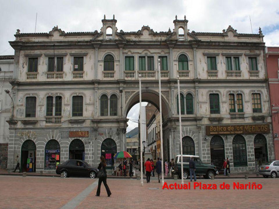 Actual Plaza de Nariño