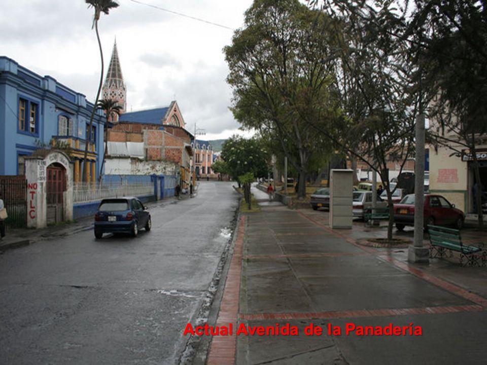 Actual Avenida de la Panadería