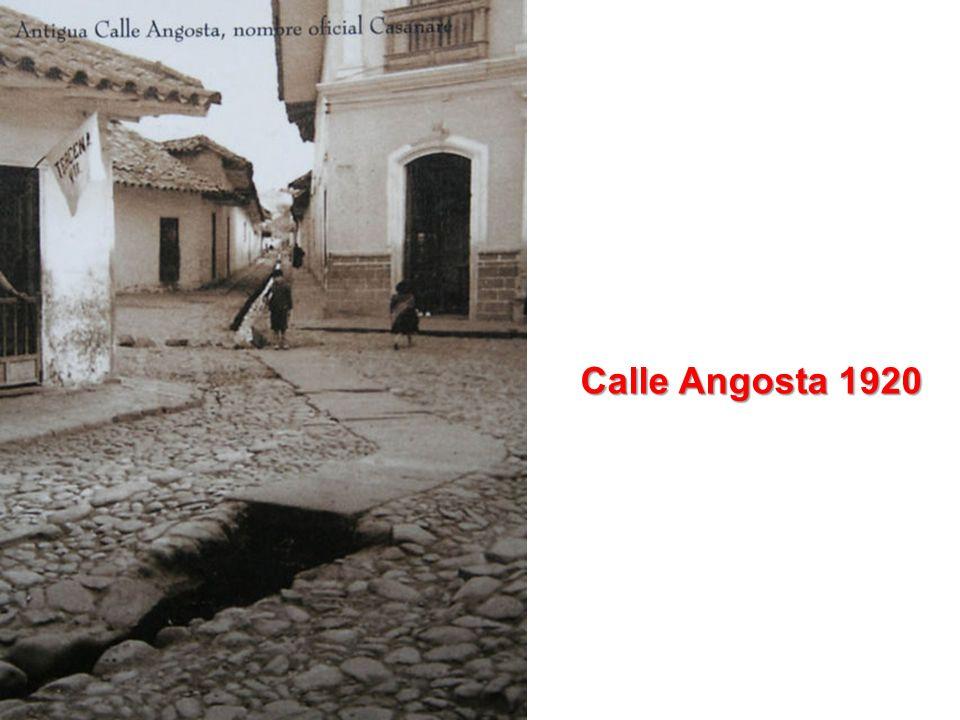 Calle Angosta 1920