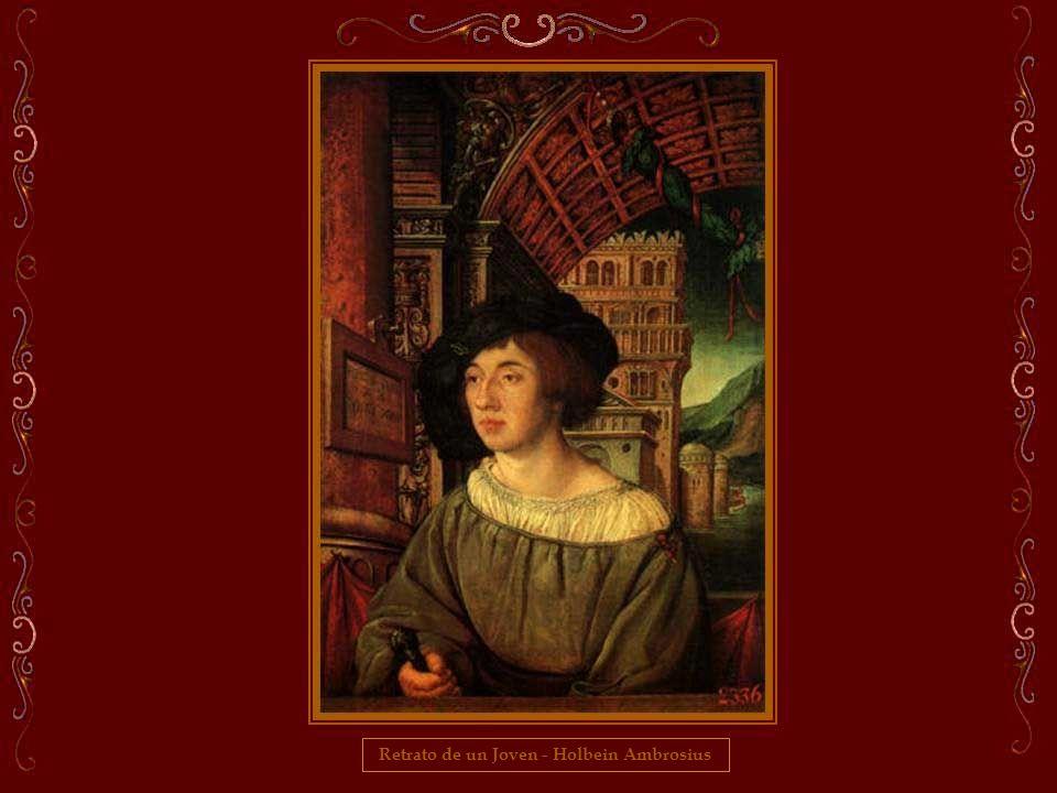 Retrato de un Joven - Holbein Ambrosius