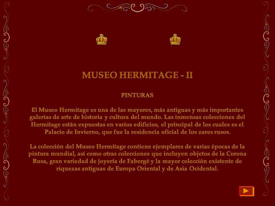 MUSEO HERMITAGE - II PINTURAS