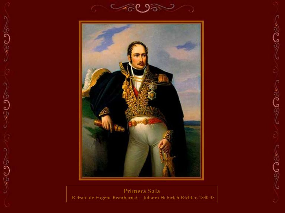 Retrato de Eugène Beauharnais - Johann Heinrich Richter, 1830-33